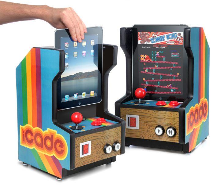 iCade una nueva forma de jugar con iPad