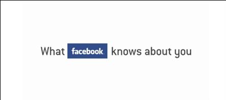 lo que facebook sabe de ti - video