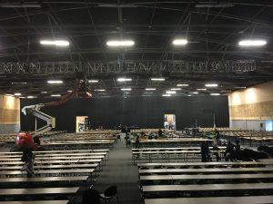 Tristán Elósegui en Expomarketing Colombia 2016 - Sala del evento vacía 2