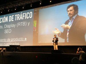 Tristán Elósegui en Expomarketing Colombia 2016 - Activación del tráfico web