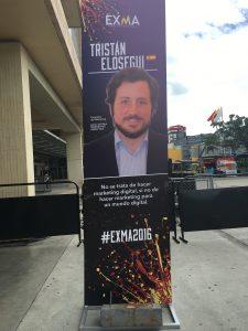 Tristán Elósegui en Expomarketing Colombia 2016 - Cartel de presentación