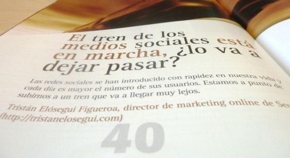 foto articulo tristan elosegui en la revista marketing + ventas - febrero 2011