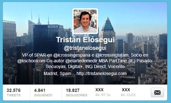 Métricas para medir la influencia en Twitter