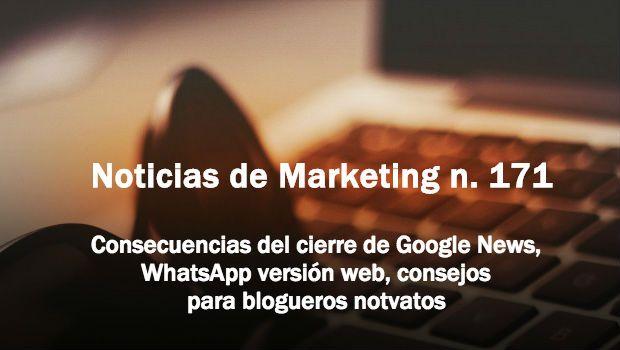 Noticias de marketing 171 - tristan elosegui.com