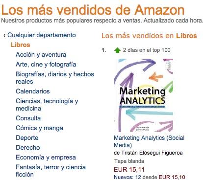 Noticias de Marketing:Marketing analytics el más vendido, Amazon nos hace repartidores