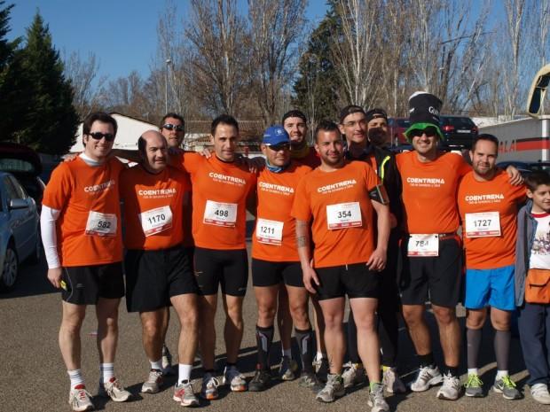coentrena media maraton de aranjuez Marzo 2012
