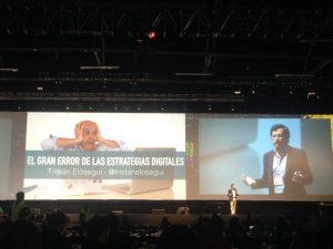 Tristán Elósegui en Expomarketing Colombia 2016 -El gran error de las estrategias digitales