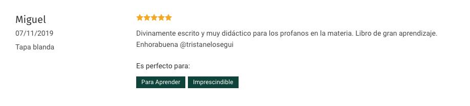 Testimonio - Miguel